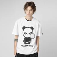 HIPANDA x TMC你好熊猫 男女同款 虎牙天命杯联名定制T恤 *2件