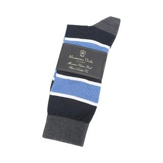 Massimo Dutti  男款 格纹拼色袜子