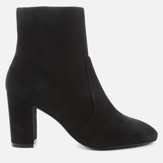 银联返现购 : STUART WEITZMAN 斯图尔特韦茨曼 Tinsley 80 女士绒面高跟踝靴