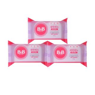 B&B 保宁 抗菌薰衣草洗衣皂 200g*3