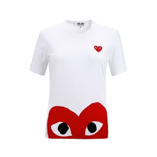 COMME des GARCONS 川久保玲 CDG PLAY男女情侣款T恤