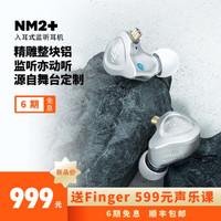 宁梵声学 NF Audio监听耳机入耳式有线专业舞台监听主播歌手耳返音频高音质长线舒适型NM2+ 铝本色