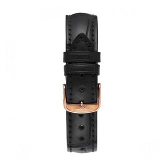 LONGINES 浪琴 军旗系列 L4.774.8.22.2 35.6mm 男士机械手表 白盘 黑色鳄鱼皮表带 圆形