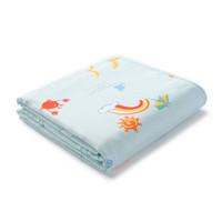 全棉时代 PurCotton 阳光海滩幼儿六层纱布被120cm×150cm  1件装