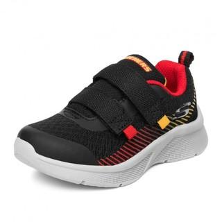 SKECHERS 斯凯奇 BOYS系列 男童休闲运动鞋 97537N 黑色/红色