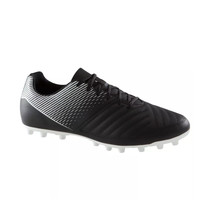 DECATHLON 迪卡侬 AGILITY 100 FG 男士足球鞋 184873-8397881 黑色