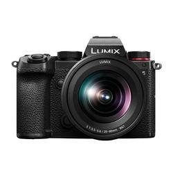 Panasonic 松下 LUMIX S5K 全画幅 微单相机 黑色 20-60mm F3.5 变焦镜头 单头套机