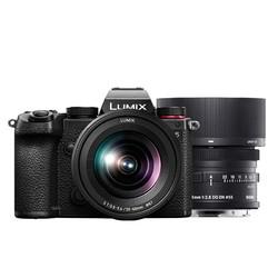 Panasonic 松下 LUMIX S5 全画幅 微单相机 双头套机