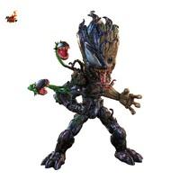 Hot Toys《蜘蛛侠:最大毒液》毒液化格鲁特1:1比例珍藏人偶
