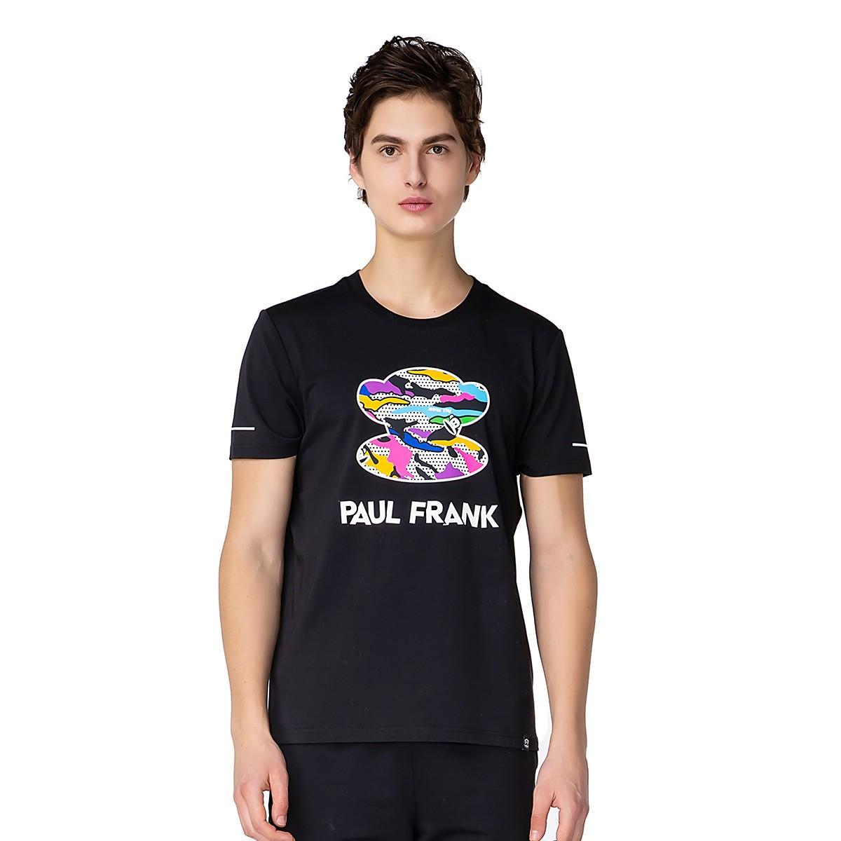 Paul Frank 大嘴猴 PFHTE202267M 男款运动T恤