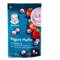 Gerber 嘉宝 蔬菜水果混合酸奶溶溶豆 3段 28g(8个月以上)