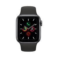 Apple 苹果 Watch Series 5 智能手表 GPS版 40mm 黑色