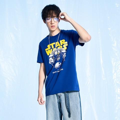 LI-NING 李宁 AHSQ459-2 星球大战 男士T恤短袖 *2件