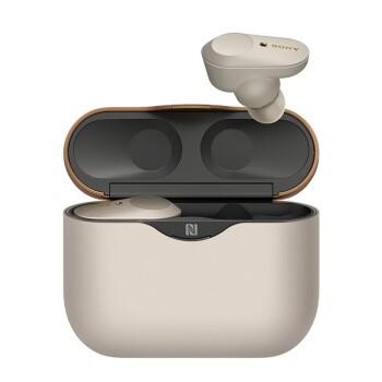 索尼(SONY)WF-1000XM3 运动耳机 降噪豆 触控面板 铂金银
