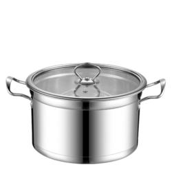 曼达尼 304不锈钢汤锅 18cm