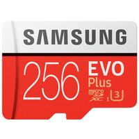 百亿补贴:SAMSUNG 三星 EVO Plus MicroSD存储卡 256GB
