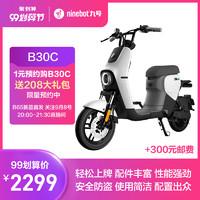 ninebot九号B30C新国标可上牌9号智能电动车高性能续航铅酸电单车