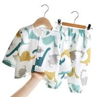 CLASSIC TEDDY 精典泰迪 儿童纱布家居服套装