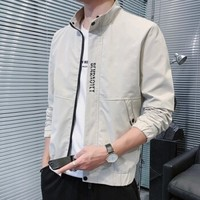 聚盟 MSLJ201BK-1 男士立领夹克外套