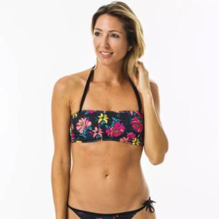 DECATHLON 迪卡侬 BANDEAU LAURA TOMEI 女士泳衣 304829-8551107 黑色