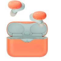 SONY 索尼 h.ear时尚系列 WF-H800 耳塞式耳机 橘色