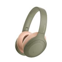 SONY 索尼 WH-H910N 头戴式蓝牙无线耳机 灰绿色