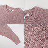 UNIQLO 优衣库 422913 女装混色圆领针织衫