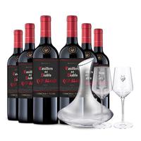 Casillero del Diablo 红魔鬼 黑金珍藏系列红葡萄酒 750ml*6瓶