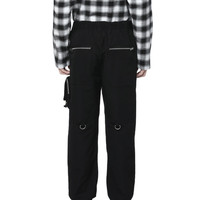 FIVE CM 饰链条口袋长裤