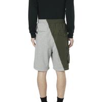 FIVE CM 饰口袋拼接短裤