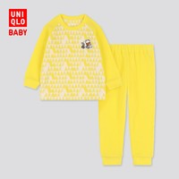 优衣库 婴儿/幼儿 (UT) DPJ弹力细摇粒绒睡衣(长袖)420082 UNIQLO