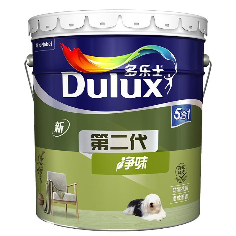 Dulux 多乐士 A890 第二代内墙乳胶漆 18L 单桶白漆