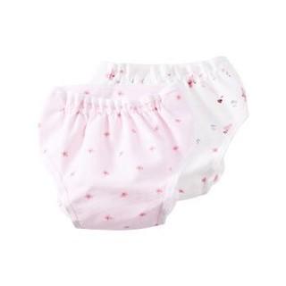 全棉时代 婴儿纱布复合隔尿裤 2件装