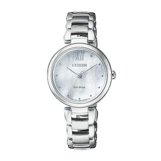 CITIZEN 西铁城 EM0530 贝母表盘女士手表