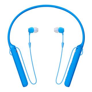 SONY 索尼  WI-C400 入耳式颈挂式无线蓝牙耳机 蓝色
