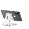 摩斯维 桌面折叠手机支架 银色
