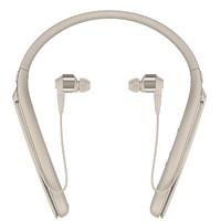 SONY 索尼 WI-1000X 入耳式颈挂式无线蓝牙降噪耳机 香槟金