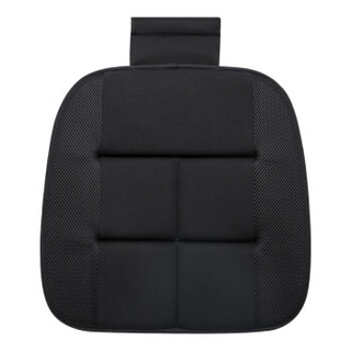 日本YAC 夏季 汽车坐垫 单片 竹炭坐垫 办公室座椅垫四季通用凉垫子免捆绑防滑坐垫透气无靠背小方垫 HY-107竹炭坐垫(前排单方垫) 通用
