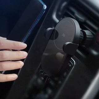 小米 MI 无线车充 车载 手机支架 10W通用快充版 电动夹臂 智能散热