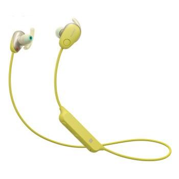 SONY 索尼 WI-SP600N 无线降噪耳塞式耳机 黄色