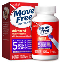 Move Free 益节 氨糖紫瓶 褪黑素 80粒 *2件