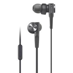 SONY 索尼 MDR-XB55AP 入耳式耳机 黑色