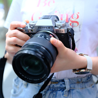 FUJIFILM 富士 X-T4 微单相机 18-55mm 单头套机 黑色