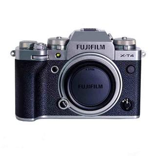 FUJIFILM 富士 X-T4 微单相机 单机身 银色
