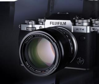FUJIFILM 富士 X-T4 微单相机 18-55mm 单头套机 银色