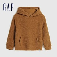 Gap 盖璞 男童仿羊羔绒卫衣