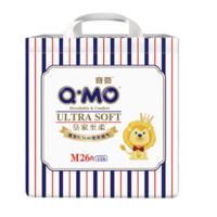 Q·MO 奇莫 皇家至柔系列 通用纸尿裤 M26片