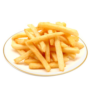 雪川薯味 3/8冷冻粗薯条 500g 方便面食好搭档 速食菜(早餐 午餐 晚餐 夜宵)西餐小食