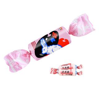 大白兔  巨兔 红豆味奶糖200g/袋新年礼物礼品玩具年货礼盒糖果 *2件