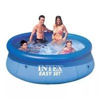 INTEX 28110碟形水池 充气圆形大家庭儿童玩具戏水游泳池244*76cm